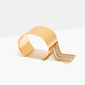 Madewell Nocturnal Fringe Cuff Bracelet